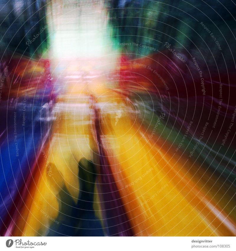 w u s c h ... gelb dunkel Spielen Bewegung Fuß Geschwindigkeit Strümpfe Spielplatz Rutsche