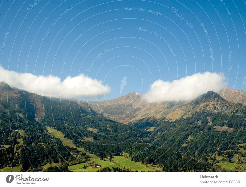 berg und tal Himmel Ferien & Urlaub & Reisen Wolken Herbst Berge u. Gebirge Luft wandern Ausflug Sauberkeit Österreich Alm Blauer Himmel Oktober Salzburg