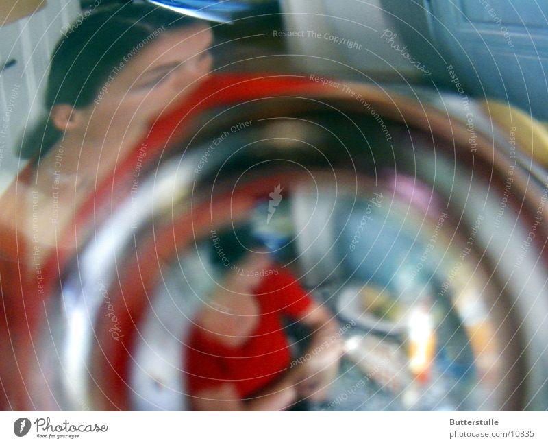 ::: verschwommen ::: Mensch Glas Verzerrung Fototechnik