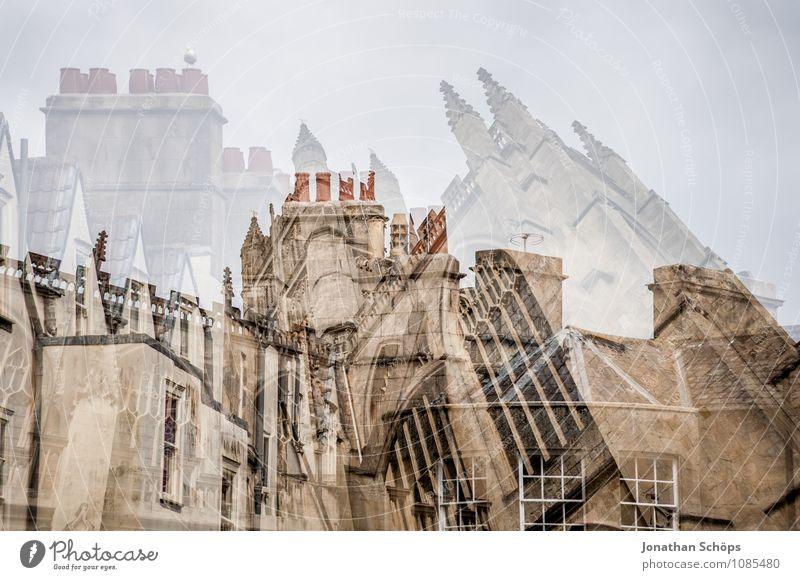 britisches Wirrwarr Bath Stadt Altstadt Religion & Glaube Kirche Dom Turm Bauwerk Gebäude Architektur Fassade Sehenswürdigkeit ästhetisch aufwärts Gotik England