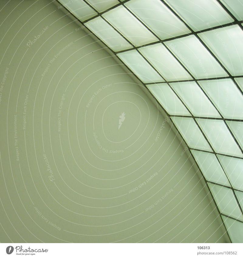 X³+3X-10=Y Wohnung Raum Glasbaustein graphisch Innenarchitektur sehr wenige Sauberkeit simpel einfach retro schick Eyecatcher Parabel Beule Halbkreis Bogen