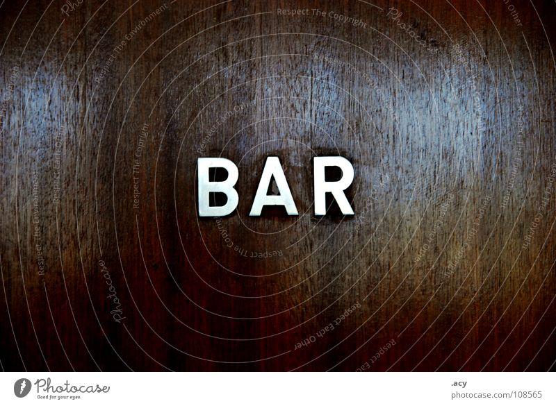 OST bar alt dunkel braun Deutschland Tür Schilder & Markierungen Schriftzeichen Bar Eingang DDR Typographie Osten altmodisch Grunge Sozialismus Blockschrift