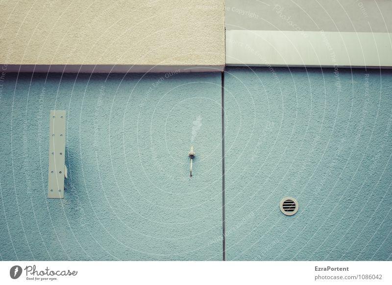 Vielfalt blau Haus Wand Architektur Gebäude Mauer grau Linie Fassade Design Dinge Technik & Technologie Ecke Beton Streifen Grafik u. Illustration