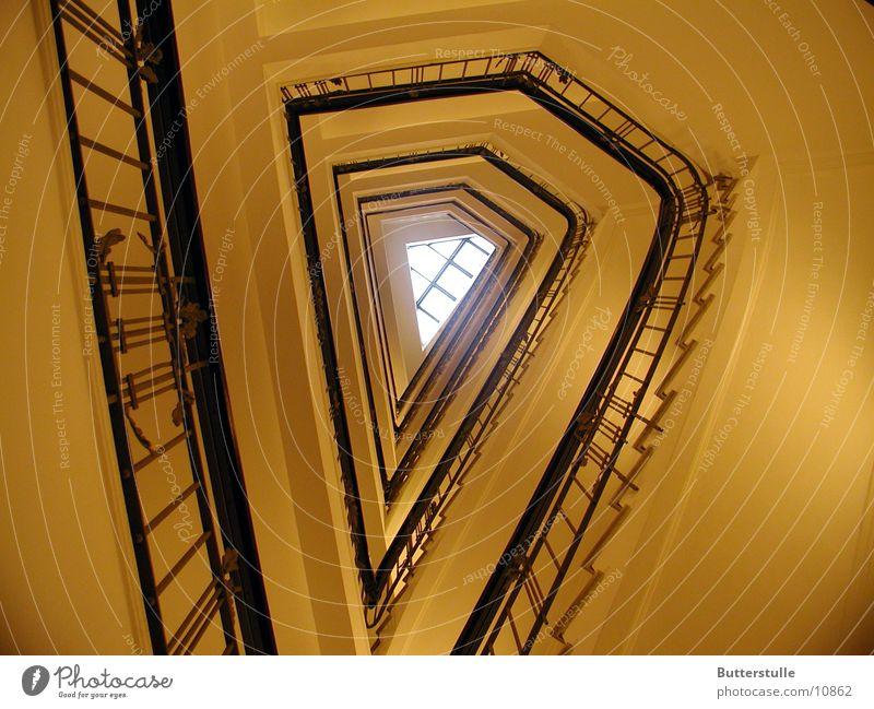 Aufgang Treppenhaus Raum Architektur Perspektive