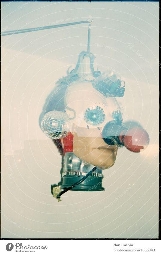 boing bum tschak Design Entertainment Club Disco Roboter Unterhaltungselektronik Fortschritt Zukunft High-Tech maskulin Kopf 1 Mensch Kunst Subkultur Accessoire