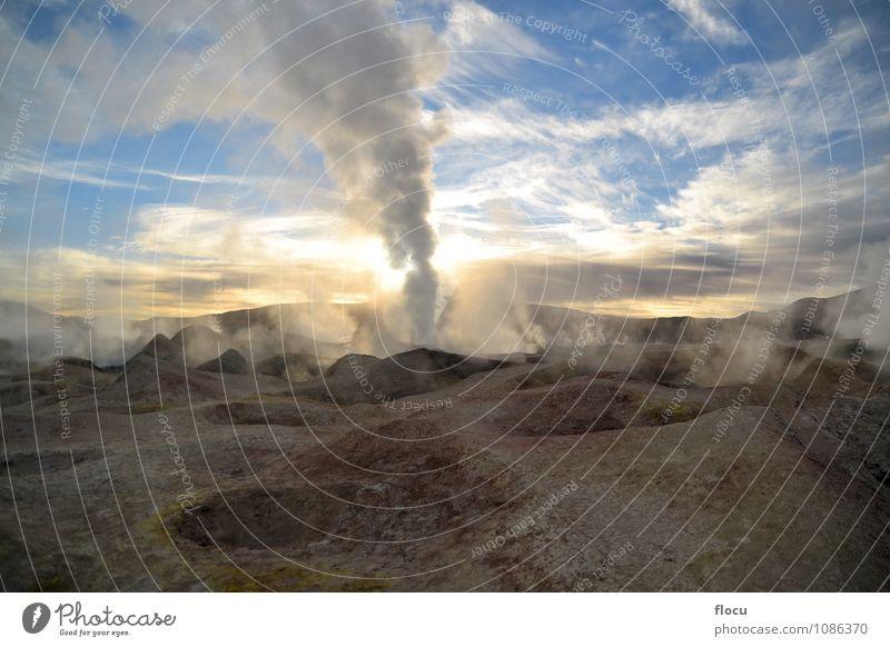 Natur Ferien & Urlaub & Reisen Farbe weiß Sommer Landschaft Berge u. Gebirge Wärme natürlich Stein Energie Abenteuer Hügel Beautyfotografie heiß Höhe