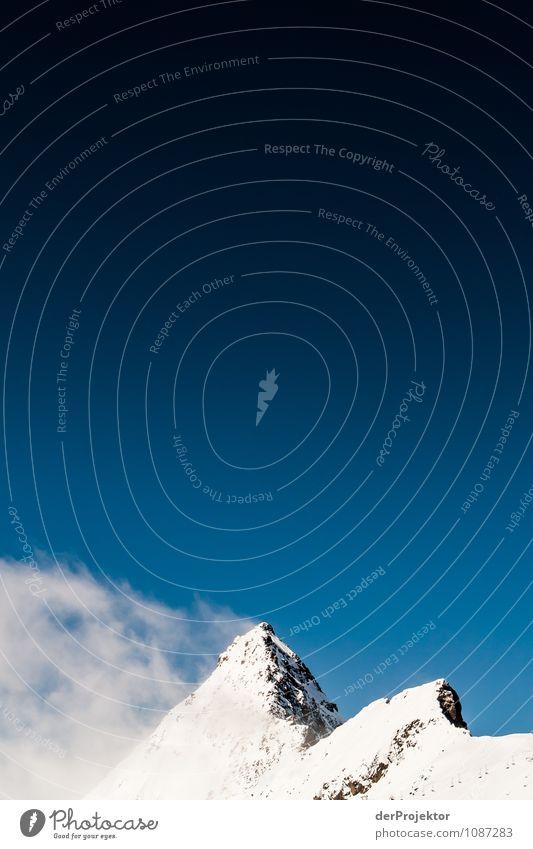 Das ist ein natürlicher Wolkenkratzer Ferien & Urlaub & Reisen Tourismus Ausflug Abenteuer Ferne Freiheit Winter Winterurlaub Berge u. Gebirge Umwelt Natur