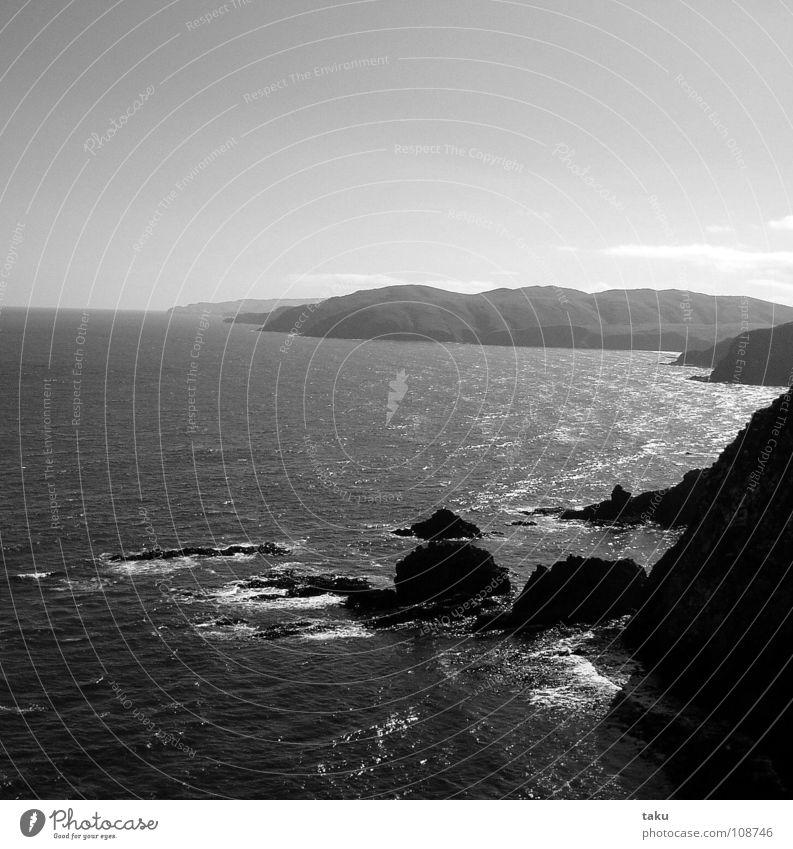 BEST PLACE IN THE WORLD schön Meer Freude Strand Küste Felsen Ausflug Pause Aussicht Erinnerung langsam Neuseeland Wohnmobil Gezwitscher Südinsel