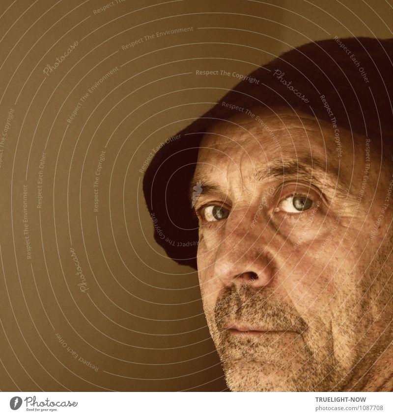 Selfie No.1 Mensch maskulin Mann Erwachsene Männlicher Senior Vater Bruder Leben Kopf Gesicht Auge Nase Lippen Bart 60 und älter Hut alt beobachten Blick