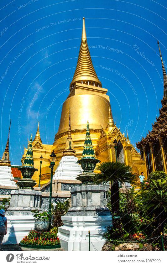Wat Phra Ferien & Urlaub & Reisen Stadt Glück Zeit Freizeit & Hobby Zufriedenheit Frieden Vertrauen Hauptstadt Stadtzentrum Altstadt