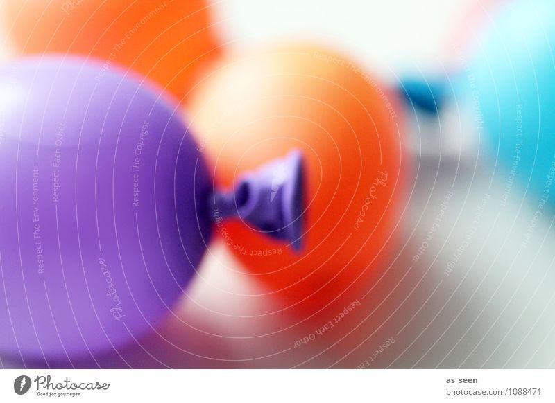 Small Waterbombs Kind Farbe Freude Leben Stil Spielen Feste & Feiern liegen orange Freizeit & Hobby leuchten Design elegant Geburtstag Kindheit ästhetisch