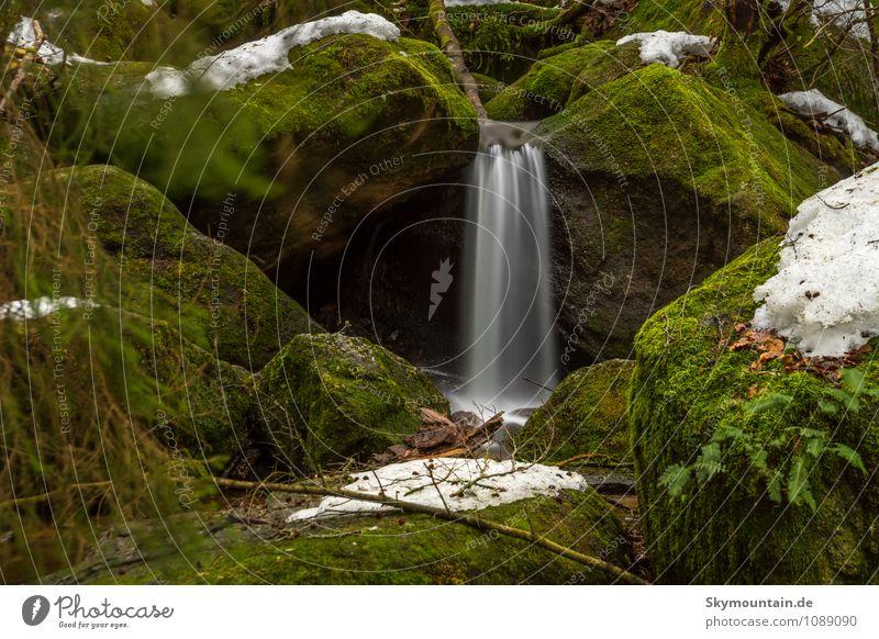 Kleiner Wasserfall in der Gertenbachschlucht Natur Pflanze Sommer Erholung ruhig Winter Berge u. Gebirge Umwelt Leben Frühling Herbst Schnee Felsen