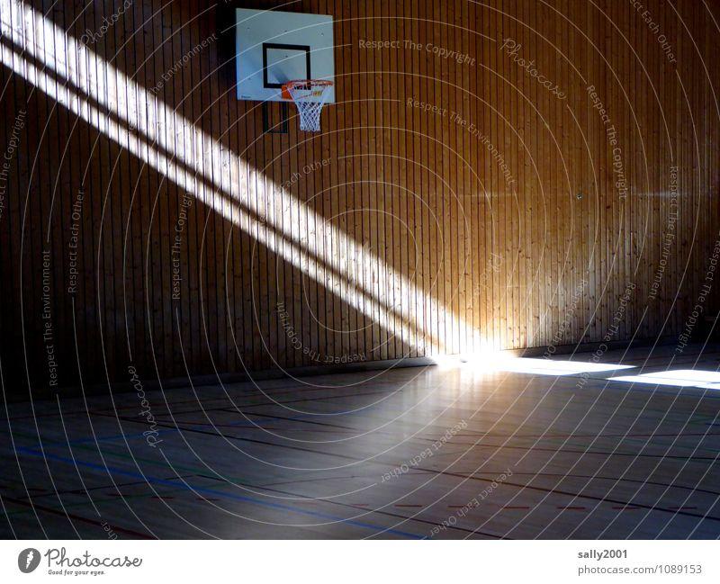 Spot on Sport... Fitness Sport-Training Basketballkorb Sportstätten Sporthalle leuchten außergewöhnlich fantastisch hell anstrengen Hoffnung Bühnenbeleuchtung