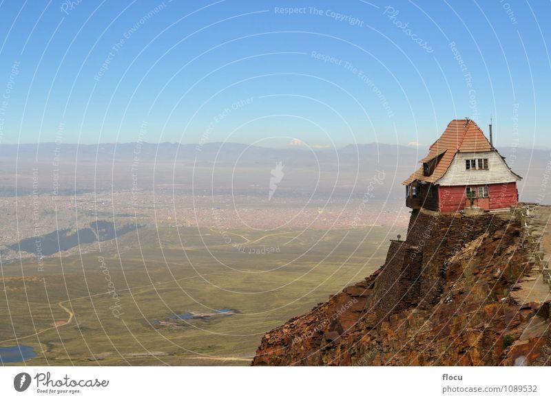 Himmel Natur Ferien & Urlaub & Reisen blau Landschaft Wolken Haus Wald Umwelt Berge u. Gebirge Herbst Architektur Schnee Gebäude Felsen Fotografie