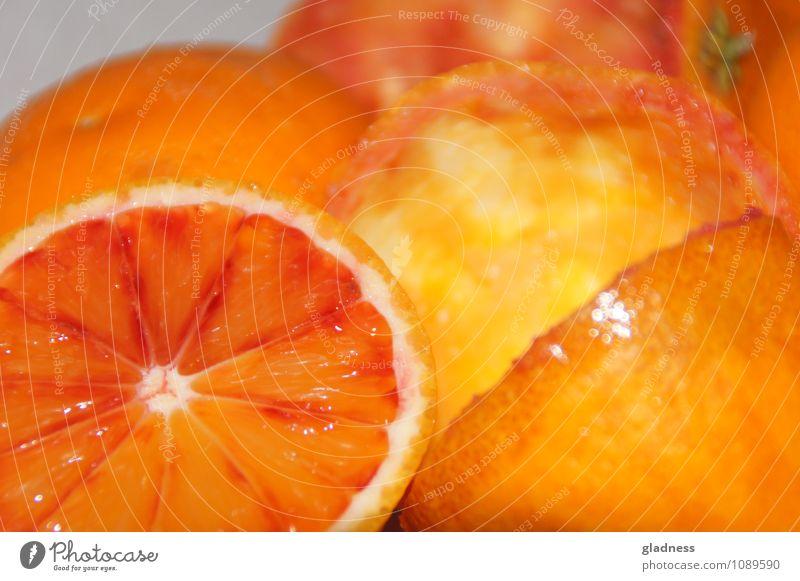 Saftige Orangen Lebensmittel Frucht Sommer Essen genießen Gesundheit glänzend saftig süß Appetit & Hunger Farbfoto Innenaufnahme Nahaufnahme Blitzlichtaufnahme