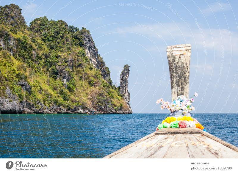 Andaman See Natur Ferien & Urlaub & Reisen Wasser Sommer Meer Landschaft genießen Schönes Wetter
