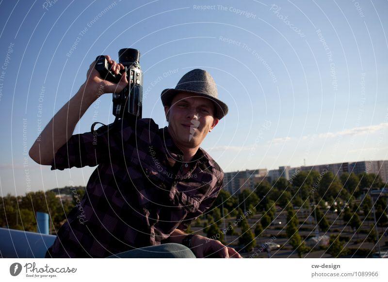 8 mm Lifestyle Freude Freizeit & Hobby Ferien & Urlaub & Reisen Tourismus Ausflug Freiheit Sightseeing Städtereise Sommer Videokamera Super 8