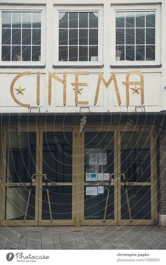 Lichtspielhaus alt Haus Tür geschlossen historisch Kino