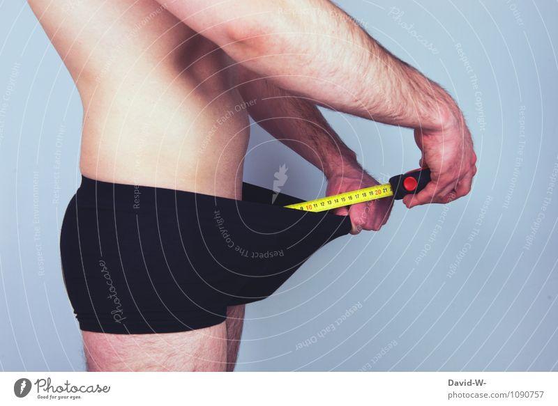 Fussili oder Cannelloni? Jugendliche Mann nackt schön Erotik Junger Mann Erwachsene maskulin Körper Sex Kreativität Neugier Ziffern & Zahlen sportlich