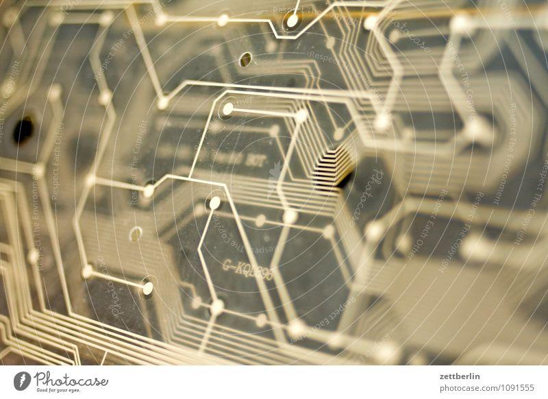 Tastatur Niveau elektrisch Elektronischer Geschäftsverkehr Kabel elektronisch Elektronik Folie Mikrochip Integrierte Schaltkreise Schaltpult Schalter Stromkreis