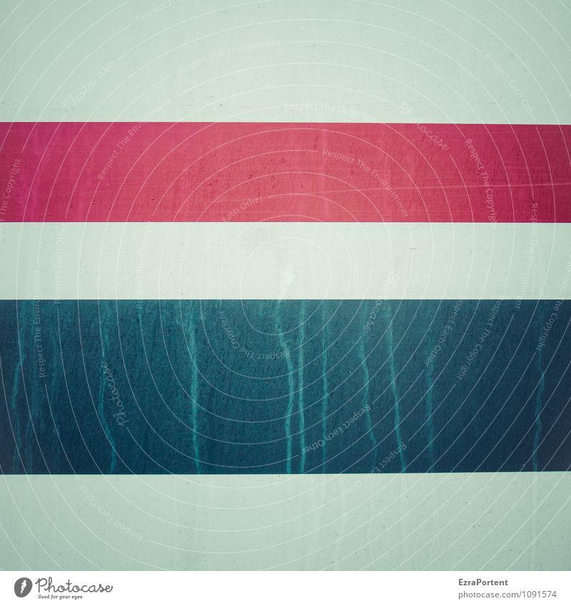 durch dick und dünn Design Metall Zeichen Linie Streifen ästhetisch grau rot schwarz Farbe Grafik u. Illustration Grafische Darstellung graphisch leuchten