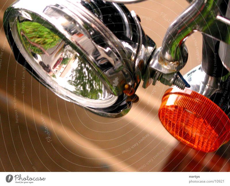 Helle Lampe Motorrad