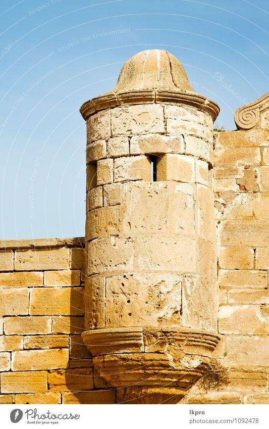 Ziegel im Altbau Afrika Ferien & Urlaub & Reisen Tourismus Sommer Architektur Kultur Landschaft Himmel Wolken Hügel Dorf Kirche Palast Burg oder Schloss Ruine