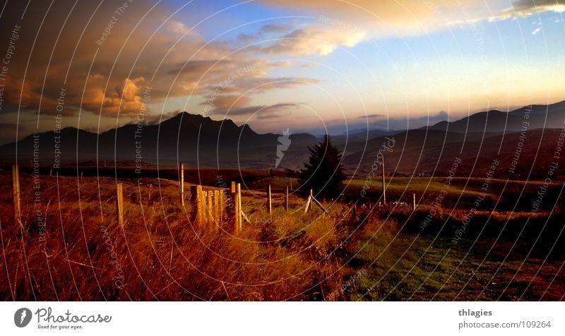 Highlands: Ben Nevis nach dem Regen Wasser Himmel Wolken Berge u. Gebirge Landschaft Europa Sehnsucht Teile u. Stücke Schottland