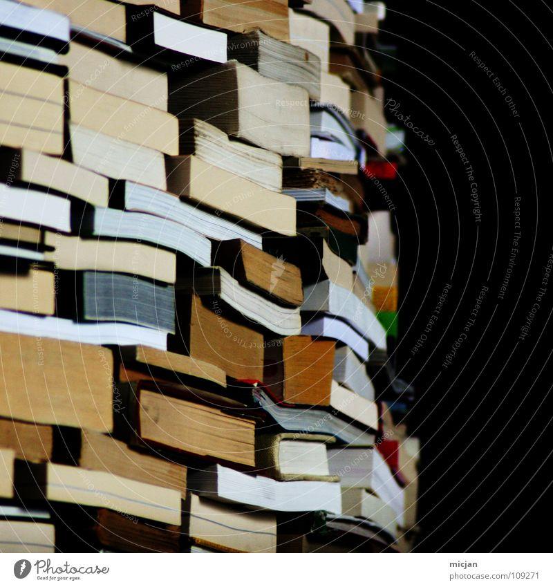 Literarisches Quartet III Buch lesen Bildung Information analog Sammlung Wissen Stapel Printmedien Anhäufung Haufen Literatur Kultur Buchladen Lesestoff