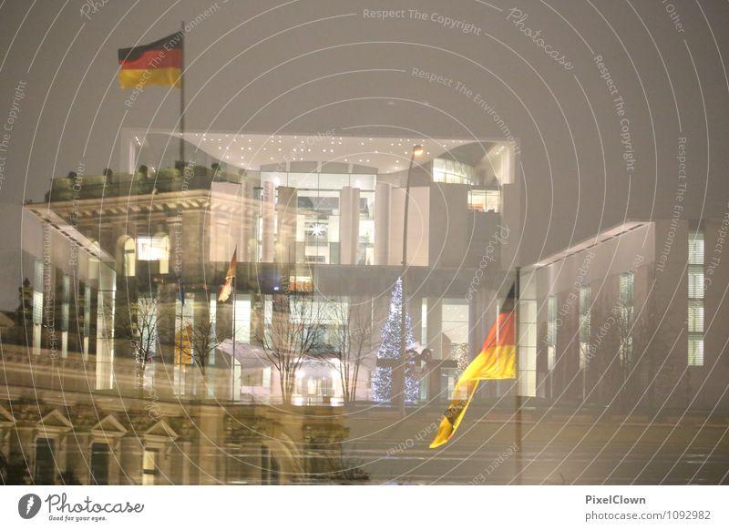 Regierung ohne scharfe Konturen Ferien & Urlaub & Reisen Stadt Wand Architektur sprechen Gebäude Mauer grau außergewöhnlich Stein Kunst Zufriedenheit Kraft