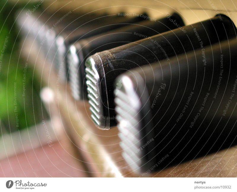 1, 2, 3, 4 ... schwarz berühren Reihe Automat Fototechnik Zigarettenautomat