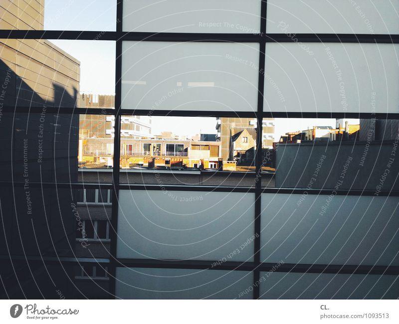 fomu Museum Schönes Wetter Antwerpen Belgien Europa Stadt Haus Gebäude Architektur Mauer Wand Fassade Fenster Fensterblick Farbfoto Innenaufnahme Menschenleer