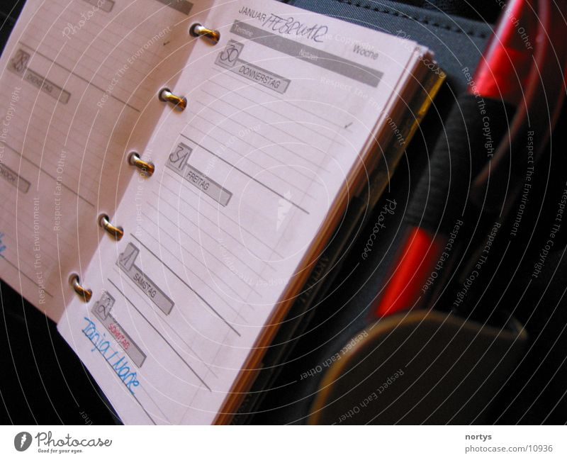 Termine, Termine Termin & Datum Kalender Zettel Dinge Arbeit & Erwerbstätigkeit Business