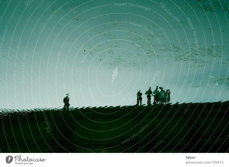 ATLANTIS I Mensch Wasser Pflanze Menschengruppe Mauer See Brücke Asien Reflexion & Spiegelung untergehen Ausstellung Außenseiter Unterwasseraufnahme