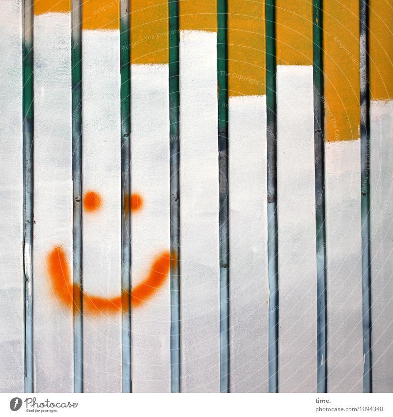 HMV | Stimmungsaufheller Mensch Erholung Freude Gesicht Leben Graffiti Glück Fassade Design Fröhlichkeit ästhetisch Lächeln Lebensfreude Zaun entdecken
