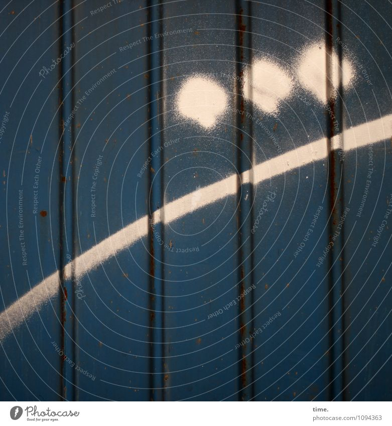 HMV | Hamburger Dreigestirn Leben Farbstoff Graffiti lustig Linie Kunst Metall Fassade leuchten Design Kreis Lebensfreude Streifen Punkt Neugier geheimnisvoll