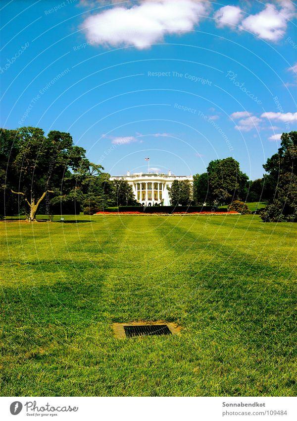 Weisses Haus Weißes Haus Amerika Politik & Staat geheimnisvoll USA America Washington DC D.C. George W. Bush Garden Garten