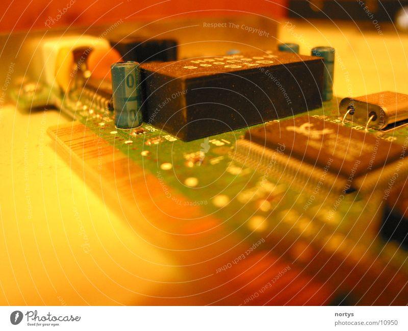 Leiterplatte Platine Elektrisches Gerät Mikrochip Technik & Technologie Kabel Elektronik Netzwerk