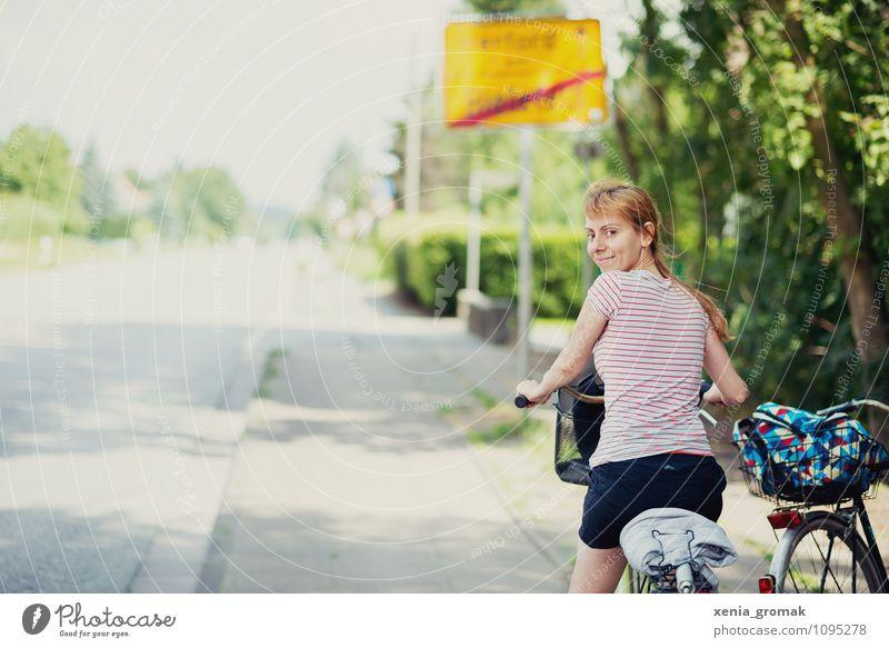 Fahrradtour Mensch Natur Ferien & Urlaub & Reisen Sommer Ferne Umwelt Leben Wege & Pfade Sport Gesundheit Freiheit Freizeit & Hobby Tourismus Ausflug
