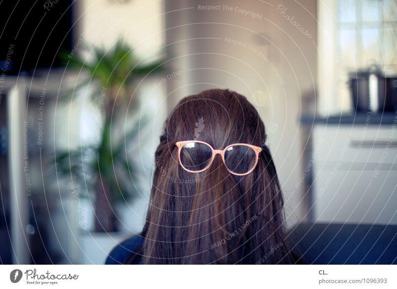 missverständnis | irgendwas ist anders Mensch Frau Freude Erwachsene Leben Innenarchitektur feminin lustig Haare & Frisuren außergewöhnlich Wohnung maskulin