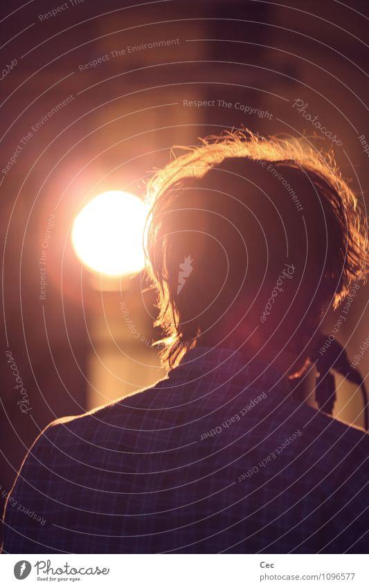 N.D.K. II Nachtleben Veranstaltung Musik ausgehen Mikrofon Junger Mann Jugendliche Kopf Haare & Frisuren Rücken 18-30 Jahre Erwachsene Bühne Show Konzert Sänger