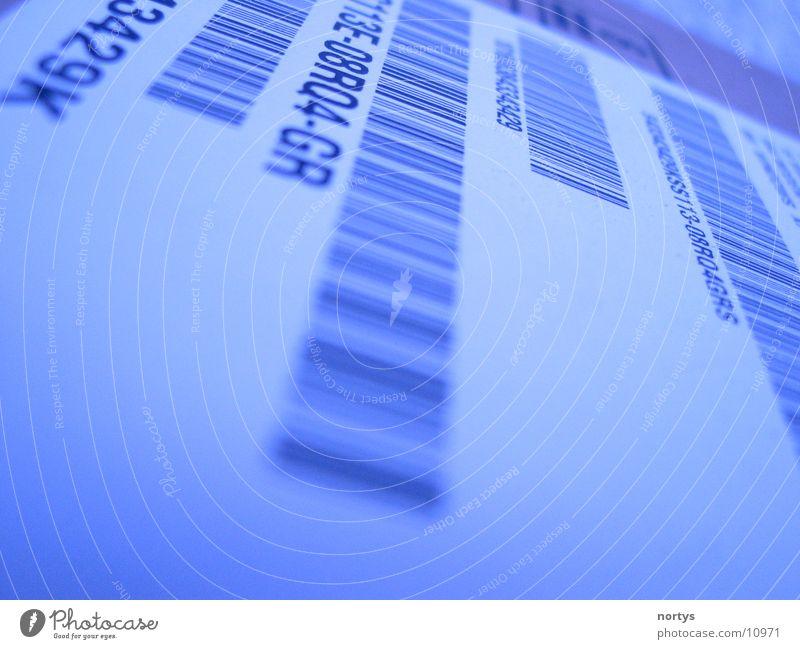 Scan me! Bar Kennwort Barcode Scanner Kasse anmelden entdecken Elektrisches Gerät Technik & Technologie blue