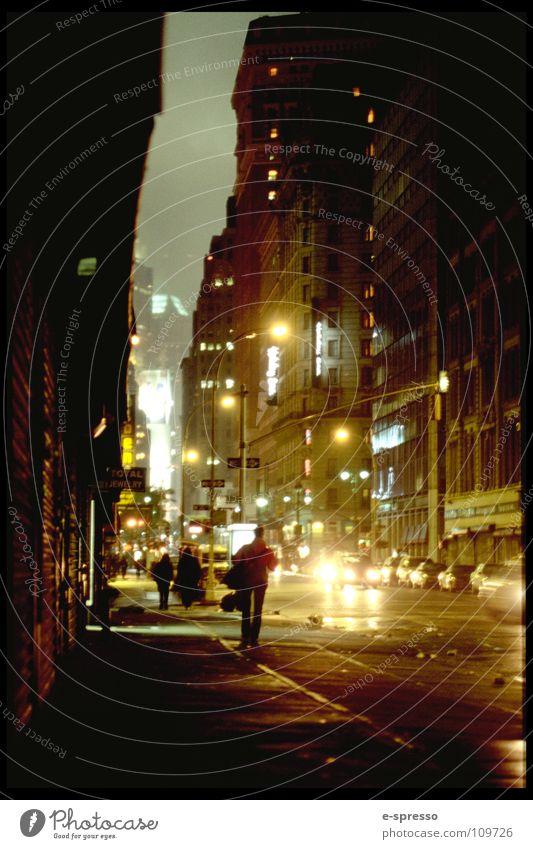 Streets of SoHo, Manhattan, New York, N.Y. New York City Soho Nachtleben Schlucht Licht Stimmung Frieden Nitelife Abend
