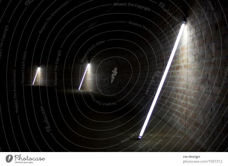 Lichtstrahl Technik & Technologie Energiewirtschaft Kunst Ausstellung Kunstwerk Menschenleer Industrieanlage Fabrik Tunnel Leuchtturm Bauwerk Gebäude