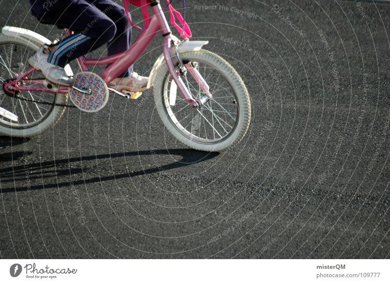 bicycle race Kind Freude Straße Spielen Fahrrad Beton