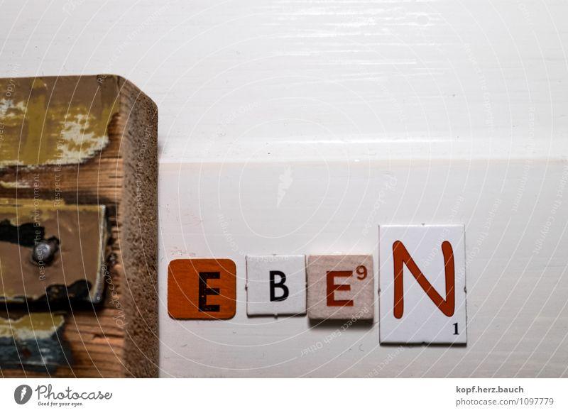 e.b.e.n. Dekoration & Verzierung Kunst Holz Schriftzeichen Schilder & Markierungen Hinweisschild Warnschild Freude Optimismus Kraft Willensstärke Einigkeit