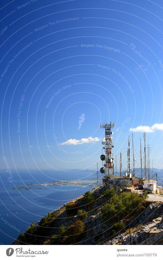 Radiation Summit 2 Himmel blau weiß rot Meer Sommer Wolken Ferne Landschaft Berge u. Gebirge Wärme Wetter Wasserfahrzeug hoch Insel trist