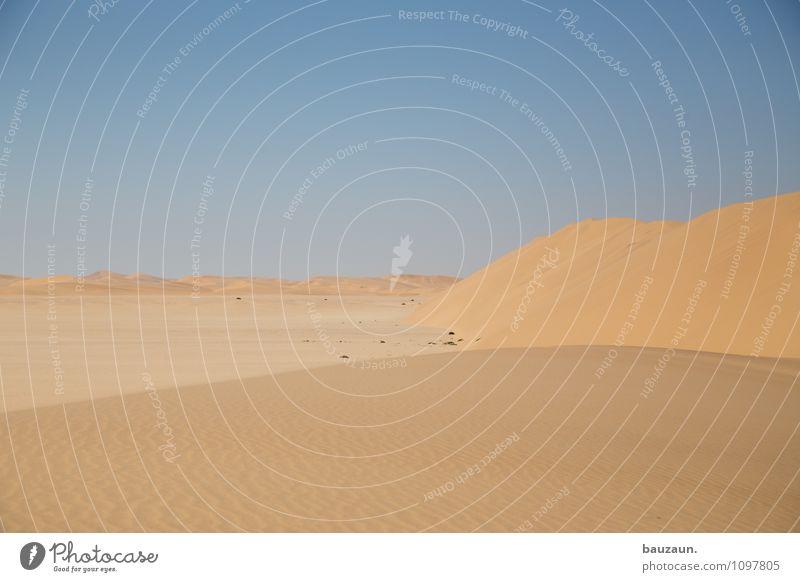 s. Natur Ferien & Urlaub & Reisen Landschaft Ferne Umwelt Wärme Freiheit Sand Erde Tourismus Ausflug Schönes Wetter Abenteuer trocken Wüste Afrika