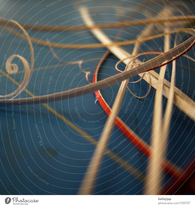 designerparty Arbeit & Erwerbstätigkeit Design Geburtstag Kreis Papier Grafik u. Illustration Locken Dienstleistungsgewerbe bauen Spirale Musikinstrument