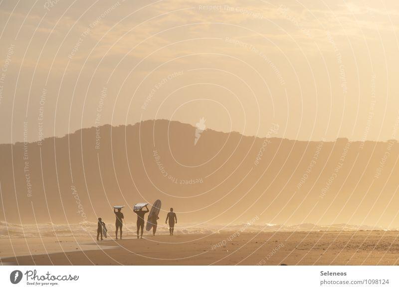 Surferparadies Mensch Natur Ferien & Urlaub & Reisen Sommer Sonne Meer Strand Ferne Umwelt Berge u. Gebirge Küste Freiheit Tourismus Abenteuer Sehnsucht Fernweh